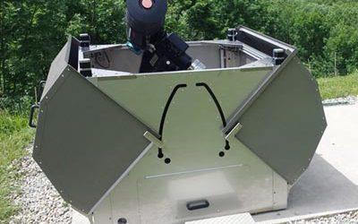 Abri compact pour télescope